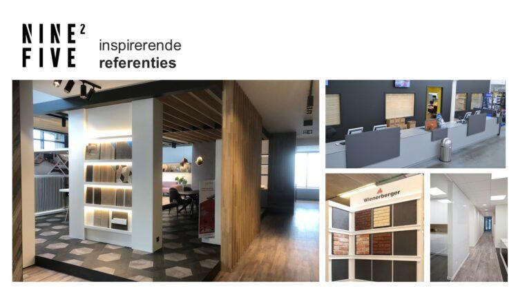 PowerPoint slide uit verkooppresentatie van Travel Expo en Nine2Five